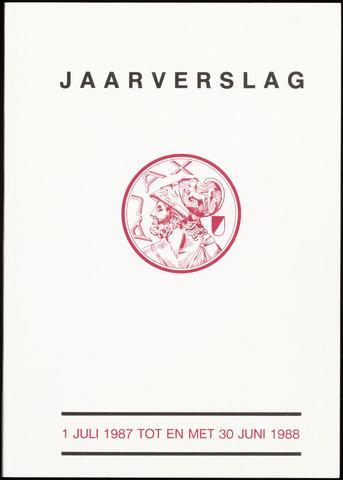 Jaarverslagen Vereniging (vanaf 1964) 1988-06-30