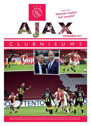 Clubnieuws Ajax (vanaf 1916) 2017-11-01