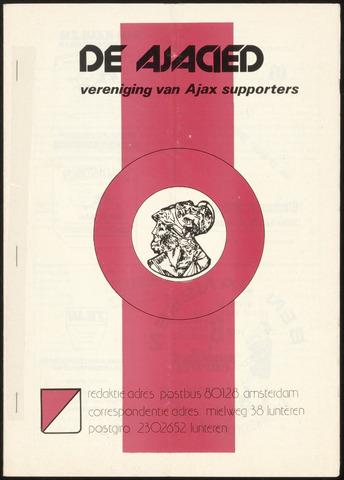 Clubblad De Ajacied (1997-2009) 1978-05-17