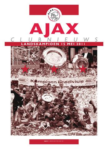 Clubnieuws Ajax (vanaf 1916) 2011-05-01