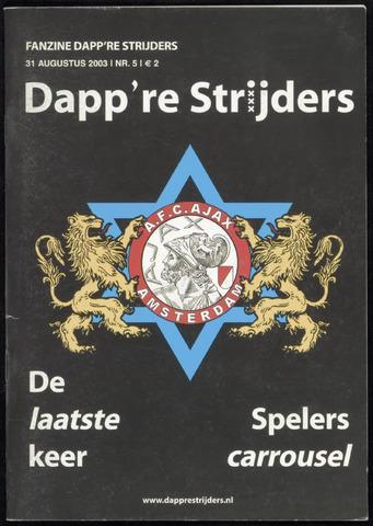 Fanzine Dapp're Strijders (2003-2005) 2003-08-31