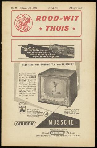 Programmaboekjes (vanaf 1934) 1958-05-15