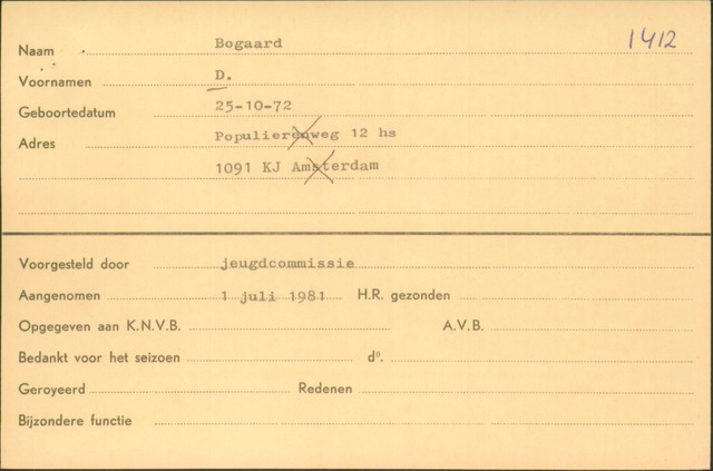 Ledenkaarten (1911-1989) 1967