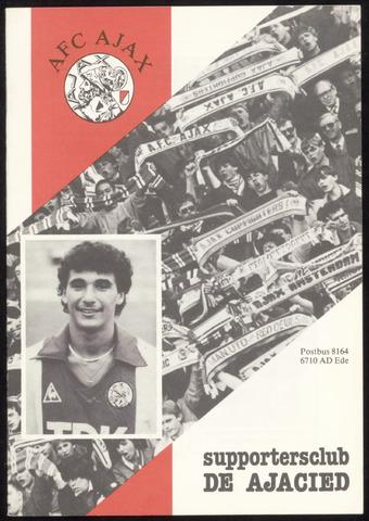 Clubblad De Ajacied (1997-2009) 1984-12-01