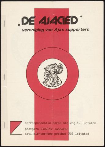 Clubblad De Ajacied (1997-2009) 1978-09-04