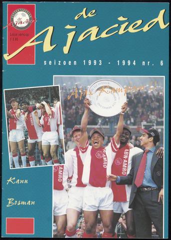 Clubblad De Ajacied (1997-2009) 1994