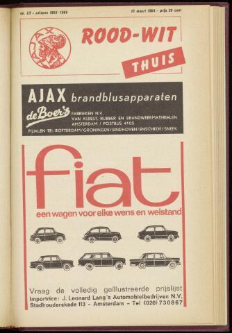 Programmaboekjes (vanaf 1934) 1966-03-13