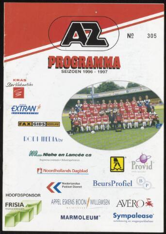 Programmaboekjes (vanaf 1934) 1996-12-08