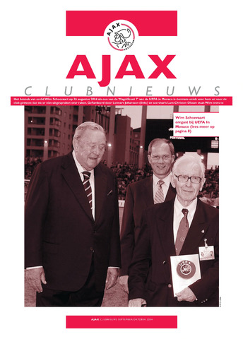Clubnieuws Ajax (vanaf 1916) 2004-09-01