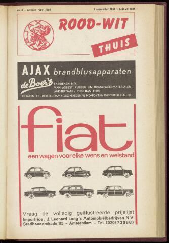Programmaboekjes (vanaf 1934) 1965-09-05