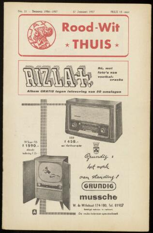 Programmaboekjes (vanaf 1934) 1957-01-27