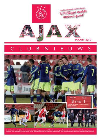 Clubnieuws Ajax (vanaf 1916) 2015-03-01