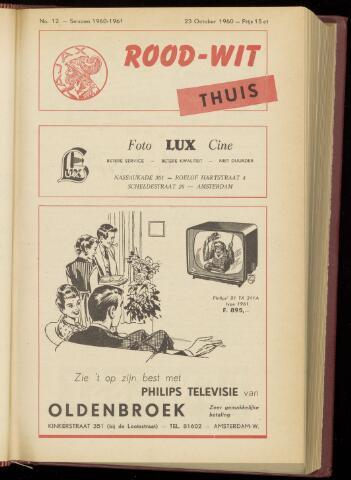 Programmaboekjes (vanaf 1934) 1960-10-23