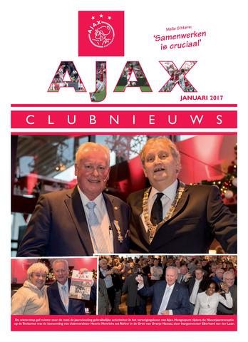 Clubnieuws Ajax (vanaf 1916) 2017-01-01