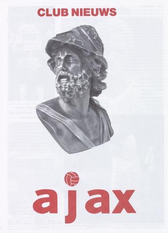 Clubnieuws Ajax (vanaf 1916) 1988-10-01