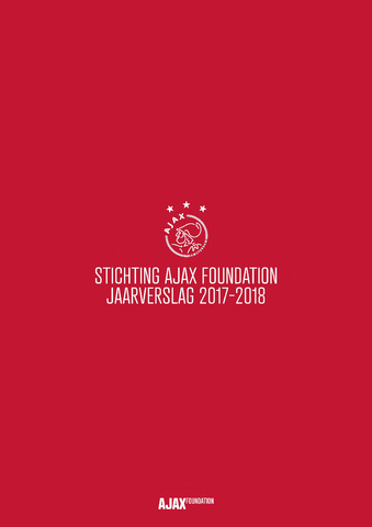 Ajax Foundation (vanaf 2018) 2018-06-30