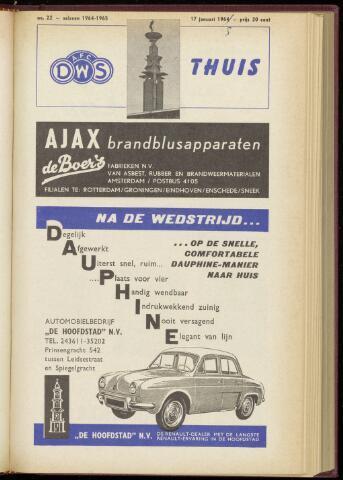 Programmaboekjes (vanaf 1934) 1965-01-17