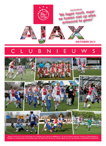 Clubnieuws Ajax (vanaf 1916) 2012-10-01