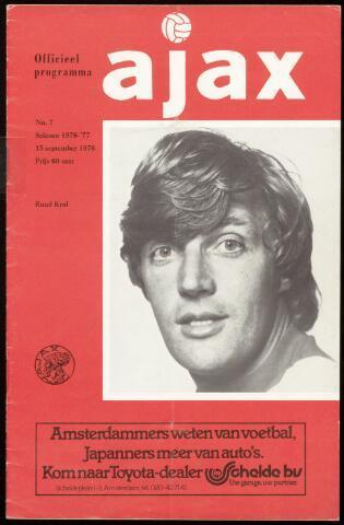 Programmaboekjes (vanaf 1934) 1976-09-15