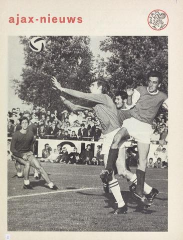 Clubnieuws Ajax (vanaf 1916) 1970-09-01