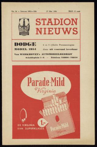 Programmaboekjes (vanaf 1934) 1954-05-27