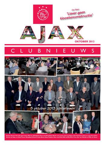 Clubnieuws Ajax (vanaf 1916) 2013-10-01