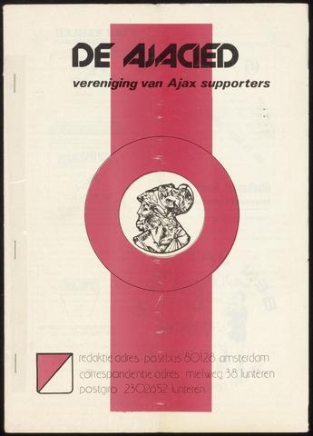 Clubblad De Ajacied (1997-2009) 1978-03-21