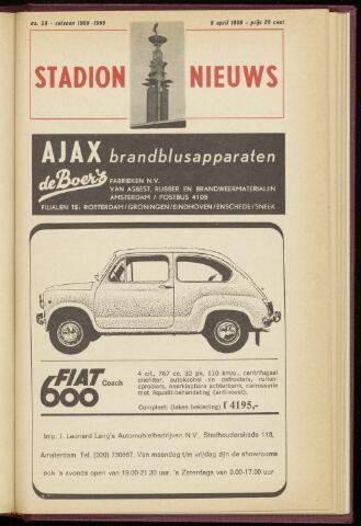 Programmaboekjes (vanaf 1934) 1966-04-09