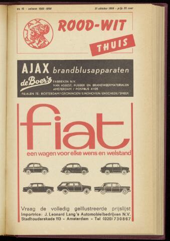 Programmaboekjes (vanaf 1934) 1965-10-31
