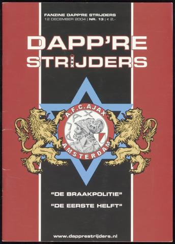 Fanzine Dapp're Strijders (2003-2005) 2004-12-12