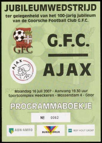 Programmaboekjes (vanaf 1934) 2007-07-16