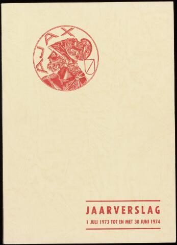 Jaarverslagen Vereniging (vanaf 1964) 1974-06-30