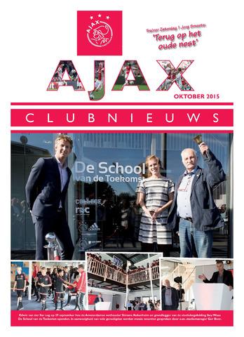 Clubnieuws Ajax (vanaf 1916) 2015-10-01