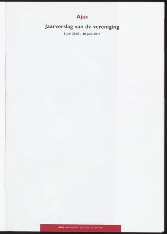 Jaarverslagen Vereniging (vanaf 1964) 2011-06-30