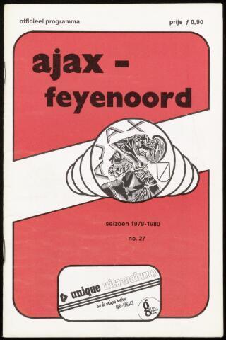 Programmaboekjes (vanaf 1934) 1980-03-09