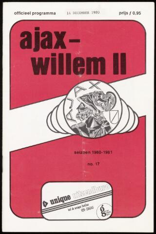 Programmaboekjes (vanaf 1934) 1980-12-14