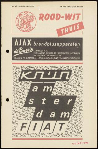 Programmaboekjes (vanaf 1934) 1970-05-18