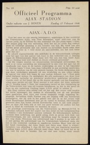 Programmaboekjes (vanaf 1934) 1946-02-17