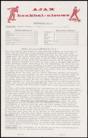 Honkbal nieuws (1963-1972) 1969-05-05