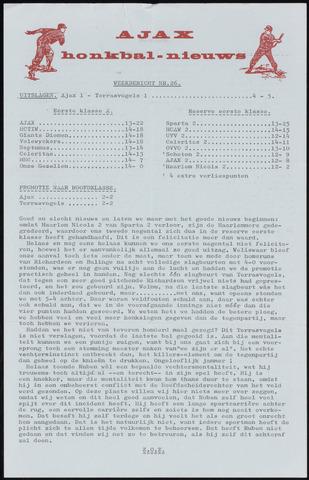 Honkbal nieuws (1963-1972) 1969-09-02