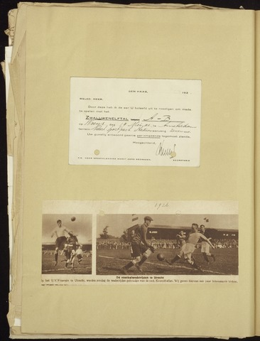 Voetbal divers 1923-05-19