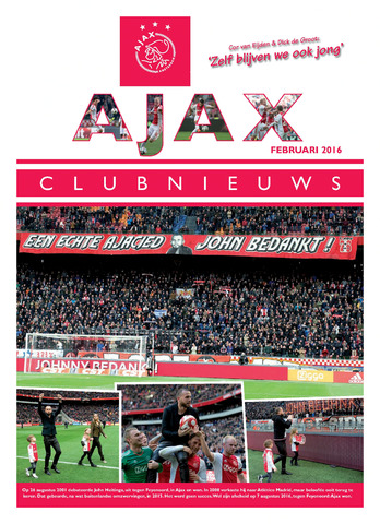 Clubnieuws Ajax (vanaf 1916) 2016-02-01