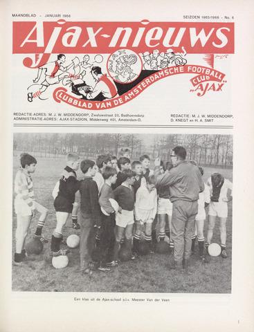 Clubnieuws Ajax (vanaf 1916) 1966