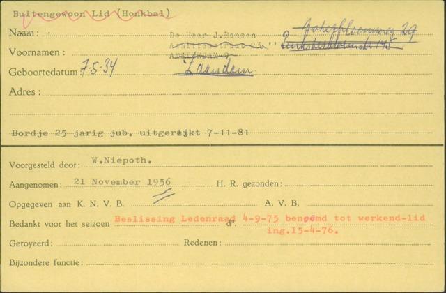 Ledenkaarten (1911-1989) 1956