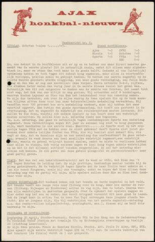 Honkbal nieuws (1963-1972) 1964-04-27