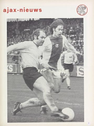 Clubnieuws Ajax (vanaf 1916) 1974-01-01