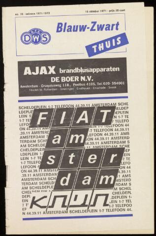 Programmaboekjes (vanaf 1934) 1971-10-15