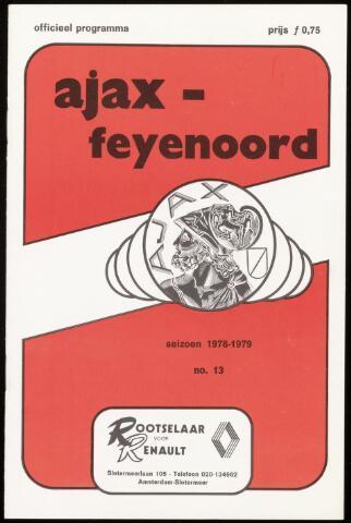 Programmaboekjes (vanaf 1934) 1978-10-28