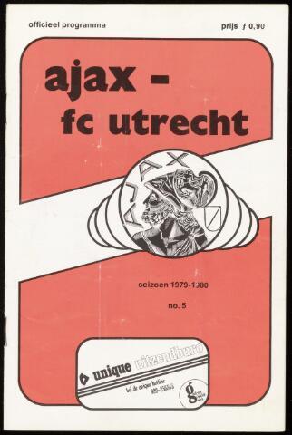 Programmaboekjes (vanaf 1934) 1979-09-23