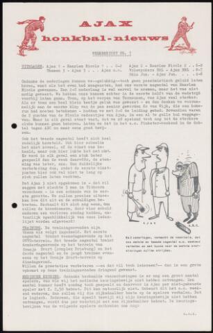 Honkbal nieuws (1963-1972) 1967-05-08